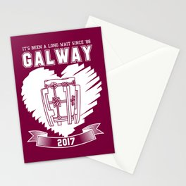 All Ireland Hurling Champions: Galway (Maroon/White) Stationery Cards