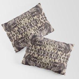 Black Int Marker Pillow Sham