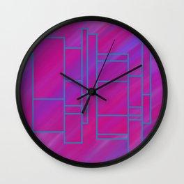 segmented (one) Wall Clock