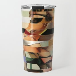 Glitch Pin-Up Redux: Randi Travel Mug