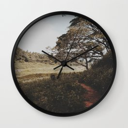 Into the field  Wall Clock