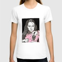 jessica lange T-shirts featuring Jessica by BlushBoundJazzy
