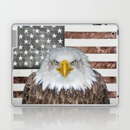 American Bald Eagle Patriot Laptop & iPad Skin