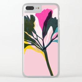 alstroemeria 5 Clear iPhone Case