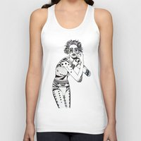 aquarius Tank Tops featuring Aquarius by Heaven7