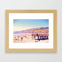 I Like California Beaches, Do You? Framed Art Print