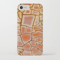 cracked iPhone & iPod Cases featuring Cracked by Kathy Dewar