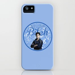 Alec Lightwood -Not your Bitch iPhone Case