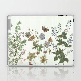 The fragility of living - botanical illustration Laptop & iPad Skin
