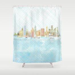 I love NYC Shower Curtain
