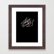 Stair problems Framed Art Print