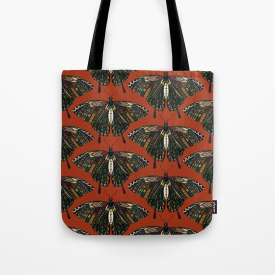 swallowtail butterfly terracotta Tote Bag