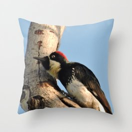 Did You Say HAWK? Throw Pillow
