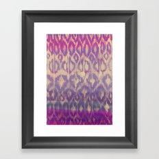Ikat2 Framed Art Print