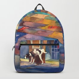 Dog and the city Backpack
