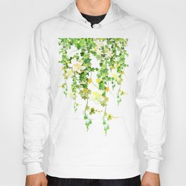 Watercolor Ivy Hoody