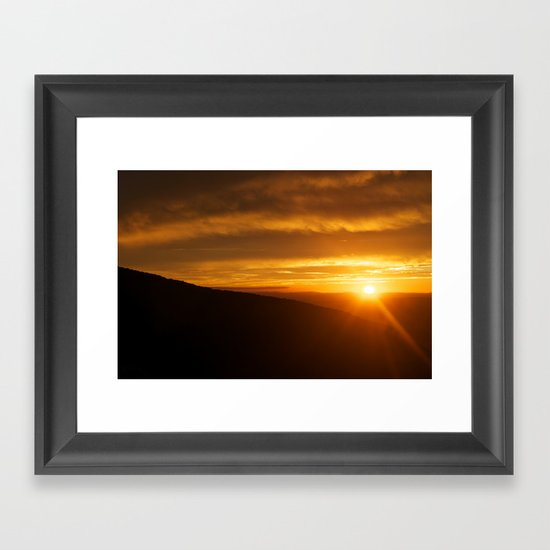 Past is Prologue Framed Art Print