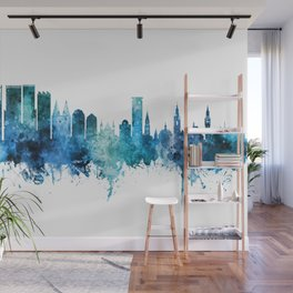 The Hague Netherlands Skyline Wall Mural