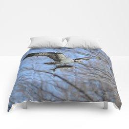 Osprey and Prey - Wildlife Photography Comforters