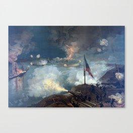 The Battle of Port Hudson Canvas Print