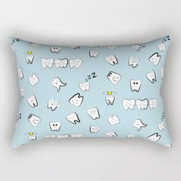 Teeth pattern Rectangular Pillow
