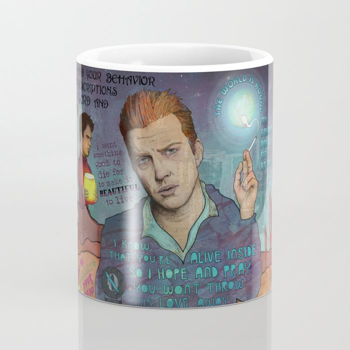 QOTSA - I Know That You're Alive Inside Coffee Mug