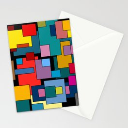 Color Blocks #4A Stationery Cards