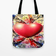 At the Very Heart of It. Tote Bag