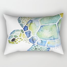 Sea Turtle - coastal - beach - sealife - ocean animals Rectangular Pillow