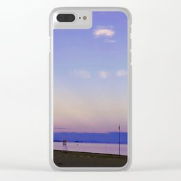 Ed è subito sera (And suddenly it is evening) Clear iPhone Case
