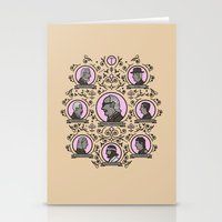 the royal tenenbaums Stationery Cards featuring The Royal Tenenbaums and friends by M. Gulin