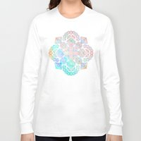 boho Long Sleeve T-shirts featuring Boho Intense by micklyn