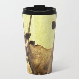 Hi, we are the antelopes. Travel Mug