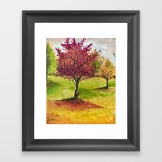 A little tree Framed Art Print