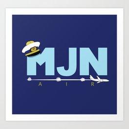 MJN Air Art Print