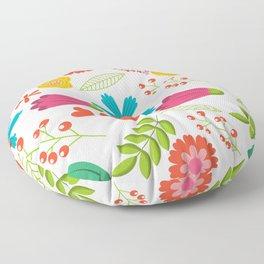 flower27 11 Floor Pillow