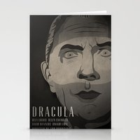 dracula Stationery Cards featuring Dracula  by James Northcote