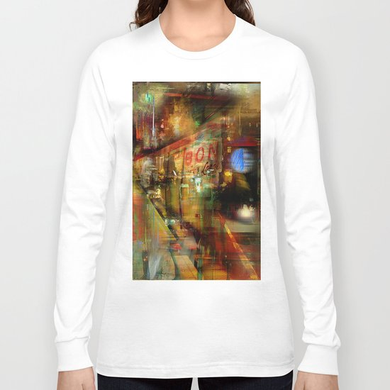 In the subway Long Sleeve T-shirt