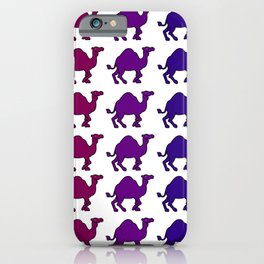 Camel Caravan Rainbow iPhone Case
