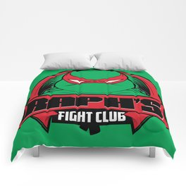 Raph's Fight Club Comforters