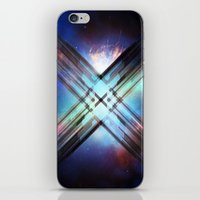 sci fi iPhone & iPod Skins featuring Sci-Fi Shards by Alli Vanes