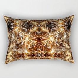 Sea Urchin Lights Rectangular Pillow