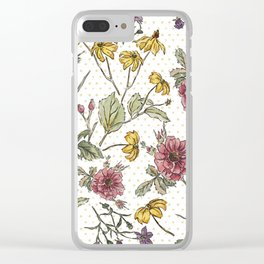 Primavera tardía Clear iPhone Case
