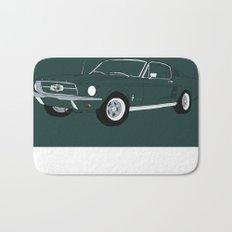 1968 Ford Mustang GT Bath Mat