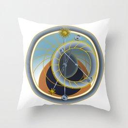 Orloj Throw Pillow