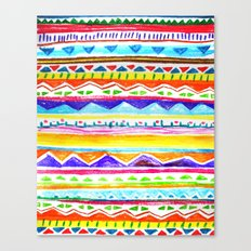 Autumn Tribal Canvas Print