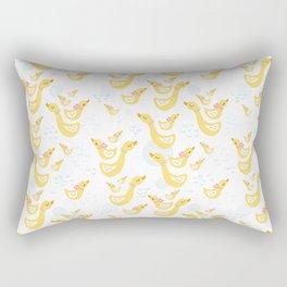 Ducky Mom n baby Rectangular Pillow