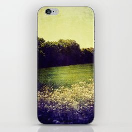Summer Hills Blues iPhone Skin