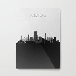 City Skylines: Yokohama Metal Print