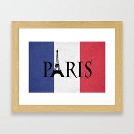 Grunge Paris Framed Art Print